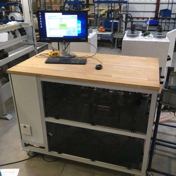 Air flow test system