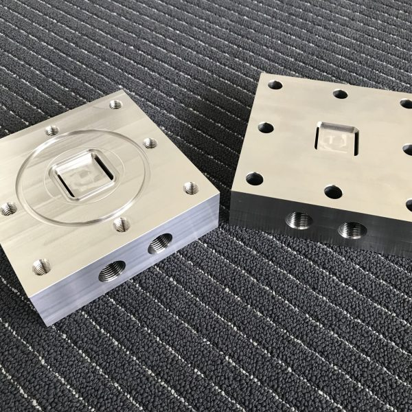 In-house machined parts of Hasteloy C276