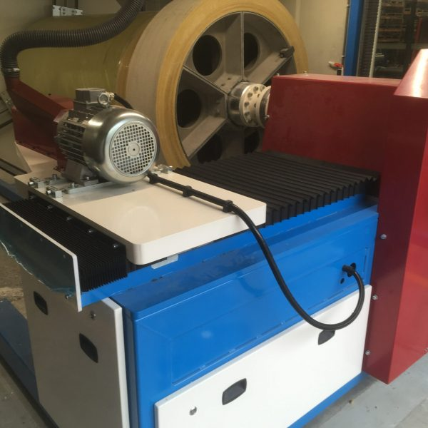 Mill-drill unit for reinforced pipes