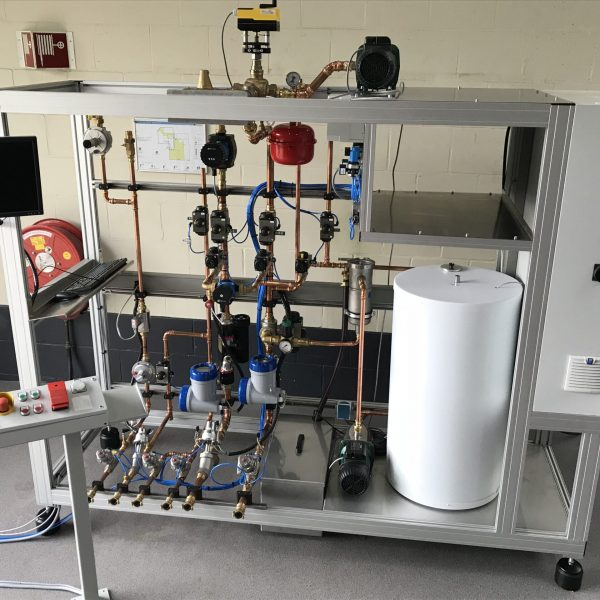 Boilers test equipment and appendages