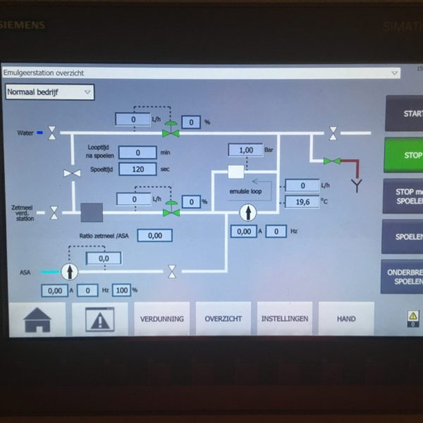 Upgrade control systems (new)
